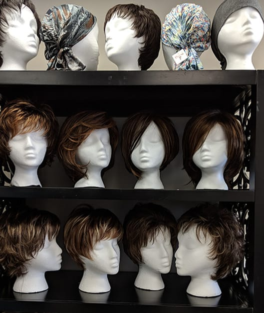 Assortment of Wigs